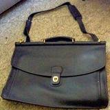 Coach Accessories   Coach Black Vintage Briefcase   Color: Black   Size: Os