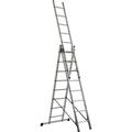 BRB Alu-Vielzweckleiter, 3x8 Stufen