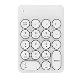 Wireless Numeric Keypad Wireless Bluetooth Touchpad with Receiver 18-key Mini Digital Keyboard 2.4Ghz Numeric Keypad for Computer Supply