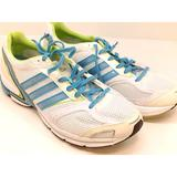 Adidas Shoes | Adidas Womens Adizero Tempo 4 Low Top Lace Up Runn | Color: White | Size: 10.5
