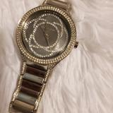 Michael Kors Jewelry   Mk Watch Sliver With Diamonds   Color: Silver   Size: Os