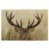 RSADGER Whitetail Deer Christmas Puzzles for Adults 1000 Piece Kids Game Toys Gift Home Decor