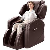 OOTORI N500Pro Massage Chair, 3-Year Warranty Massage Chairs Full Body and Recliner,10+ Stages Zero Gravity Shiatsu Heat Massage Chair with Airbags and Foot Rollers(Brown)