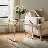 Faye Acrylic Side Table - Ballard Designs