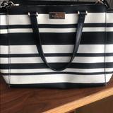 Kate Spade Bags   Kate Spade Striped Black And White Purse   Color: Black/White   Size: Os