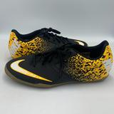 Nike Shoes | Nike Boombax Ic Indoor Soccer Cleats Youth Size 9 | Color: Black/Yellow | Size: 9