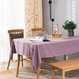Spring Garden Home Purple Tablecloth for Dinning Room Table Rectangle Geomrtric Table Protector for Kitchen Dinning Room Living Room, 52 x 70 Inch