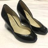 Michael Kors Shoes | Michael Kors Peep Toe Wedge Pump | Color: Black | Size: 5