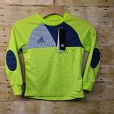 Adidas Shirts & Tops | Adidas Soccer Goalie Jersey Boys Elbow Lime Green | Color: Green | Size: Various