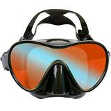 EVO Ventana HD Mask, Single Lens Snorkel Mask for Adults, Scuba Diving Mask, Freediving and Diving Mask, High Definition Single Lens Dive Mask for Adults