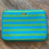 Kate Spade Bags | Kate Spade Macbook Pro 13 Laptop Sleeve | Color: Blue/Green | Size: Os