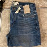 Madewell Jeans | Mens Madewell Slim Mid Blue Designer Denim Jeans | Color: Blue/Brown | Size: 32