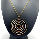 Michael Kors Jewelry   New Michael Kors Large Tri-Color Necklace   Color: Gold/Silver   Size: Os