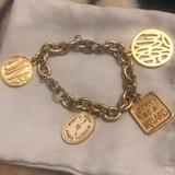 Lilly Pulitzer Jewelry | Lilly Pulitzer Gold Charm Bracelet | Color: Gold | Size: Os