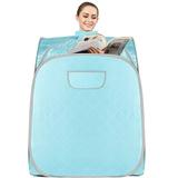 Homdox Personal Therapeutic 1 Person Traditional Steam Sauna, Size 40.55 H x 31.49 W x 31.49 D in | Wayfair US01+AMB005459_BY_F
