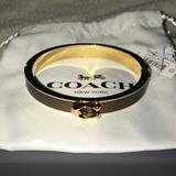 Coach Jewelry   New Coach Bracelet   Color: Brown/Gold   Size: Os