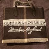 Burberry Bags | Authentic Burberry Doodle Tote | Color: Black/White | Size: Os