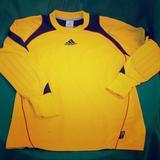 Adidas Shirts | Adidas Mens Soccer Goalie Shirt | Color: Gold | Size: Xs