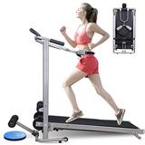 Cattliy Treadmill Under Desk Treadmill Folding Portable Walking Treadmill with Wide Tread Belt Super Slim Slow Running Treadmill for Home and Office[Fast Delivery from The U.S.]