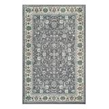 nuLOOM Indoor Rugs Gray - Gray Mikayla Floral Area Rug