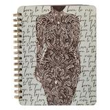 Papaya! Women's Notepads and Notebooks Sage - Sage Green 'Born to Love' Living Woman Spiral Notebook