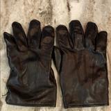 Coach Accessories | Coach Mens Xl 100% Leather 100% Cashmere Lining | Color: Black/Tan | Size: Xl