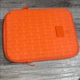Michael Kors Bags   Ipad Tablet Cover Bag   Color: Orange   Size: Os