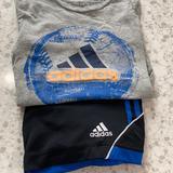 Adidas Matching Sets | Adidas Boys Baseball Shorts Set Size 7 | Color: Black/Gray | Size: 7b