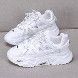 N-brand White Platform Sneakers, Ladies Chunky Sneakers, Women Dad Shoes Platform Shoes, Ladies Vulcanized Shoes, Ladies Chunky Platform Shoes, Breathable Running Shoes, Ladies Casual Shoes