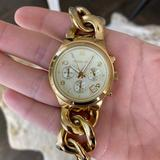 Michael Kors Accessories | Michael Kors Gold Watch Mk3131 | Color: Gold | Size: Os