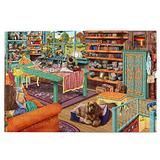 Jigsaws Puzzles Comzy Retreat Room Dog Jigsaws Puzzle Game 500 Pieces For Adults Challenging Puzzles Table Game Jigsaw Puzzles Christmas Toy Gift Wooden Family Puzzles