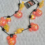 Disney Party Supplies | Pumpkins Candy Corntwists Glow In Dark Necklace | Color: Orange/Yellow | Size: Os