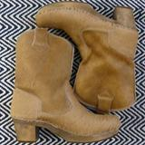 Anthropologie Shoes   Sanita Clog Boots   Color: Tan   Size: 40