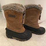 Columbia Shoes   Colombia Kidstoddlers Unisex Snow Boots   Color: Brown   Size: 7bb