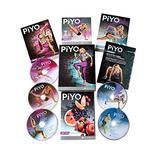DAKER PiYo DVD, Chalene Johnson Pilates Yoga Workouts Fitness Program