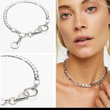 Free People Jewelry | Free People Lost Boys Silver Chain Necklace | Color: Silver | Size: Os