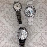 Kate Spade Jewelry | Fossil And Kate Spade Watches | Color: Silver/White | Size: Os