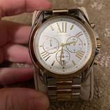 Michael Kors Accessories   Michael Kors Two-Tone Silver Gold Watch   Color: Gold/Silver   Size: Os
