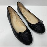 Anthropologie Shoes   Circus By Sam Edelman Christie Studded Flat Shoes   Color: Black/Silver   Size: 11