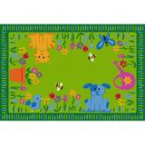 Garden Path Value Rug - Rectangle Value Size (small) - Children's Factory LC7017