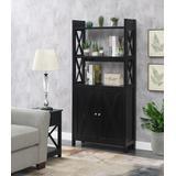 Oxford Bookcase with Cabinet - Convenience Concepts 121050ES