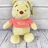 Disney Toys   Disney Winnie The Pooh Rattle Plush Toy Light Pink   Color: Pink/Yellow   Size: 12