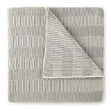 Birch Lane™ Samantha Blanket or Throw Wool in Gray, Size 50.0 W in | Wayfair MLB-TH GRY
