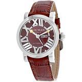 Locman Women's Classic Brown Dial Watch - 293BR