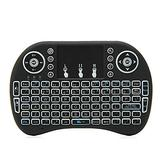 Queen.Y i8 Mini Wireless Bluetooth Keyboard,Mini Wireless Bluetooth Keyboard Air Mouse For Raspberry Pi PC Xbox One PS3 PS4 Android TV Box