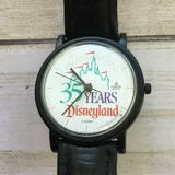 Disney Accessories | Lorus Watch 35 Years Disneyland New Battery Swatch | Color: Black/White | Size: Os