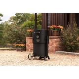 Oklahoma Joe's Charcoal Smoker Steel in Black, Size 48.0 H x 40.0 W x 28.75 D in | Wayfair 19202099