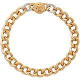 Gold & Silver Medusa Coin Necklace - Metallic - Versace Necklaces
