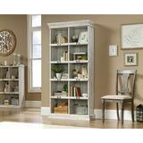 "Rosalind Wheeler Leger 75"" H x 35"" W Standard Bookcase Wood in Brown/White, Size 75.0 H x 35.0 W x 13.0 D in | Wayfair"