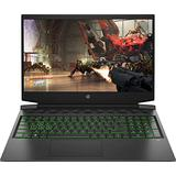"HP Pavilion 16.1"" FHD 144Hz Gaming Laptop, Intel 6-Core i7-10750H, 16GB DDR4, 512GB SSD + 32GB Intel Optane, NVIDIA GTX 1650Ti, B&O Audio, Webcam, Bluetooth, Backlit Keyboard, Windows 10, ABYS Bundle"